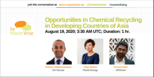 Opportunities in Chemical Recycling in Developing Countries of Asia