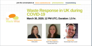 Waste Response in UK during COVID-19