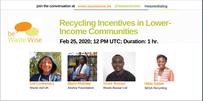 Recycling Incentives Poster
