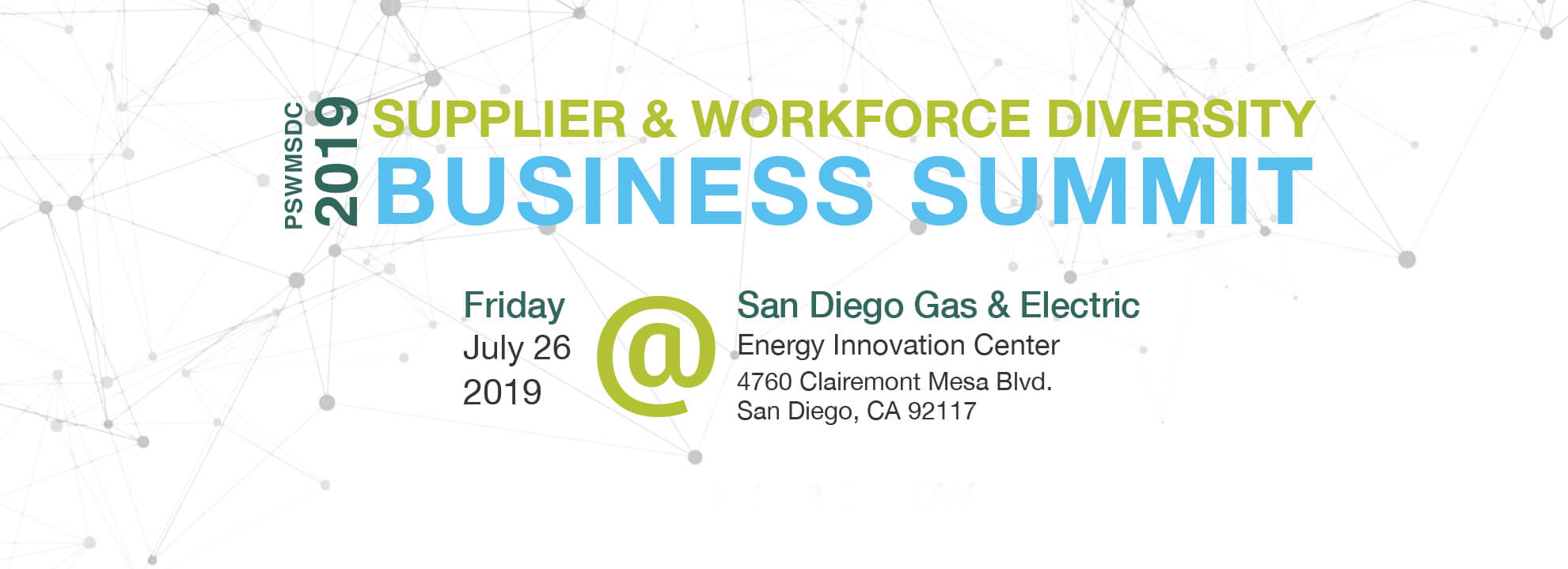 2019 Supplier & Workforce Diversity BUsiness Summit