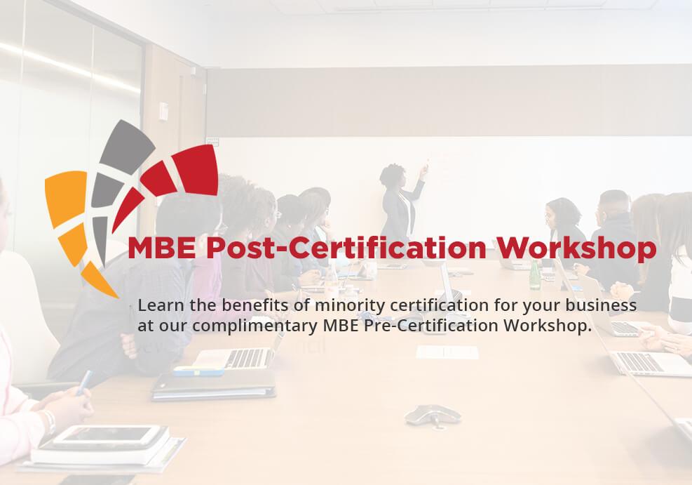 Post Certification Workshop