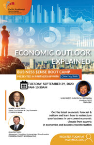Comerica Business $ense Boot Camp