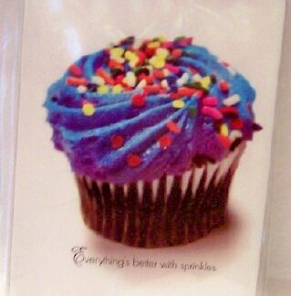 Everythings better with sprinkles In Living Color Cupcake Magnet Fr(1)