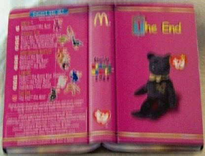 Ronald McDonald House Charities 2000 The End The Bear Ty Beanie Babies New In Pack Back
