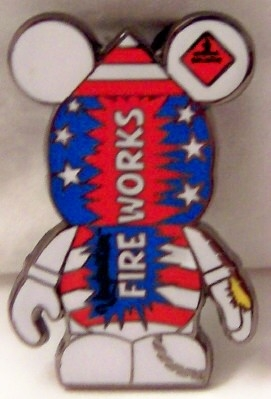 Disney Vinylmation Holiday 3 Series Limited Release July 4th Pin Front