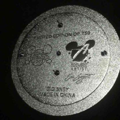 Mickey Snowboarding Jumbo Pin LE 750 3D Pin New Back