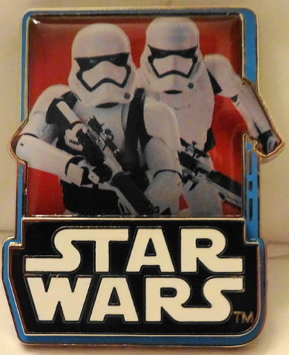 Force Awakens Stormtroopers Pin Countdown #& New Front