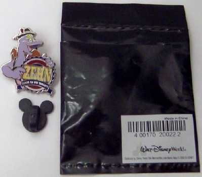 Disney WDW Figment ZEHN 10th Anniversary Pin Trading Mystery Pin New With Bag