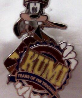 Disney WDW Goofy KUMI 10th Anniversary Trading Mystery Pin New Front
