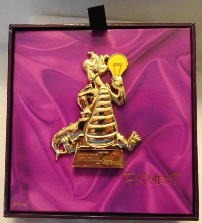 Disney Imagination Gala Jumbo Figment LE 750 Jumbo Pin New Open Box Front