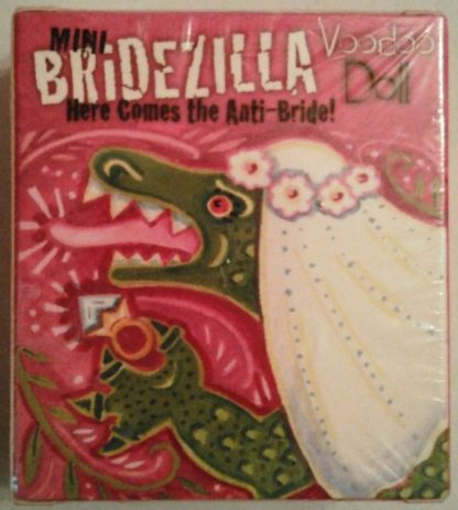 Bridezilla Anti-Bride Mini Book Kit Voodoo Doll New Front