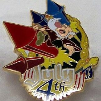 Disney Grumpy Pin July 4th LE 250 New Front