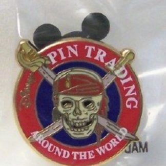 Disney Pirates Caribbean Buried Treasure Pin Front