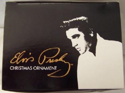 Elvis Black Jumpsuit Ornament Kurt S. Adler Christmas New In Box Top
