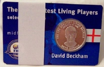 FIFA Beckham Silver Medal New Front