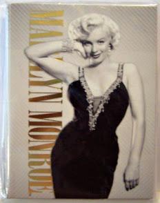 Marilyn Monroe Photo Notecards Black Dress #8 New Front