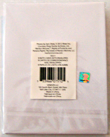 Marilyn Monroe The Seven Year Itch Skirt Photo #8 Blank Note Cards New Back