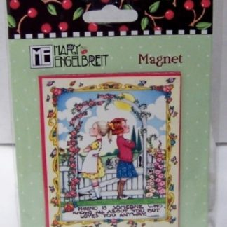 Mary Engelbreit Friend Magnet New Sealed In Pack Front