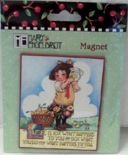 Mary Engelbreit Life Magnet New Sealed In Pack Front