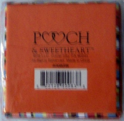 Pooch & Sweetheart W Initial Trinket Box Back