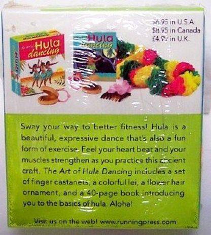 The Art Of Hula Dancing Mini Book Kit New Back