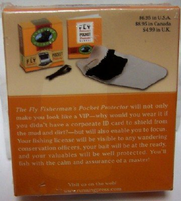 The Fly Fisherman's Pocket Protector Mini Book Kit New Back