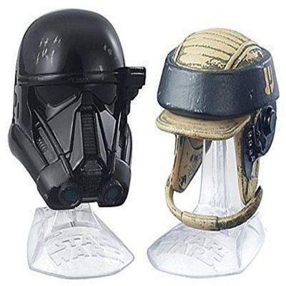Deathtrooper Rebel Commando Helmets Disney Star Wars Diecast New Out Of Box Stock Photo