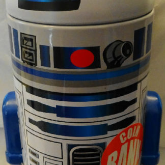 Disney Star Wars R2D2 Metal Coin Bank New 5