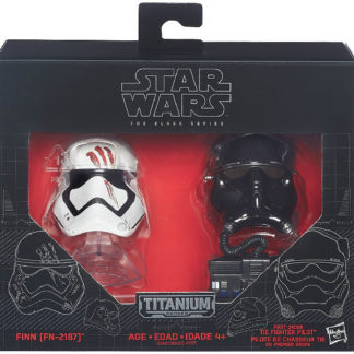 Finn Fighter Pilot Helmets Disney Star Wars Diecast New In Box Front