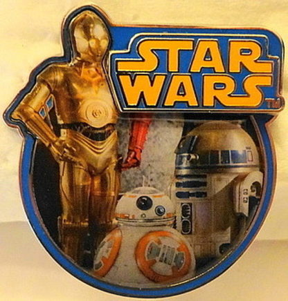 Force Awakens Droid Pin Disney Countdown #1 LE New Front