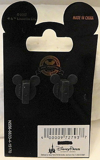 Force Awakens Droid Pin Disney Countdown #1 LE New On Car Back