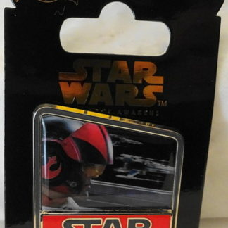 Force Awakens Poe Pin Disney Countdown #2 LE New On Card Front