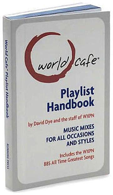 Music Mixes Playlist Minibook World Cafe Handbook Front