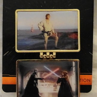 New Hope 2015 Pin Star Wars Weekends New On Card Front Pin Open
