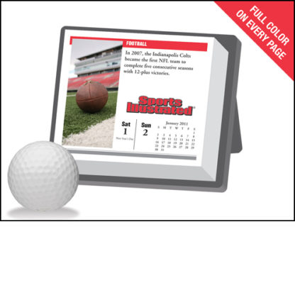 Sports Illustrated 2011 Calendar With Record Breaking Facts New Back Stock Photo