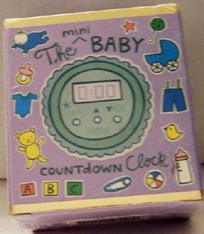 The Mini Baby Countdown ClockKit New Front