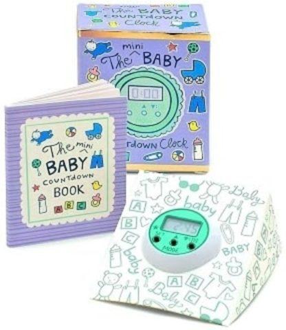 The Mini Baby Countdown ClockKit New Open Stock Photo