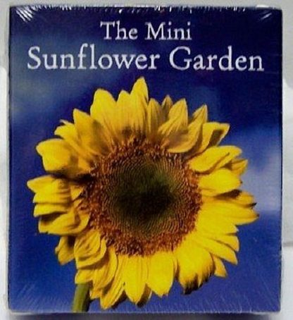 The Mini Sunflower Garden Mini Book Kit Front