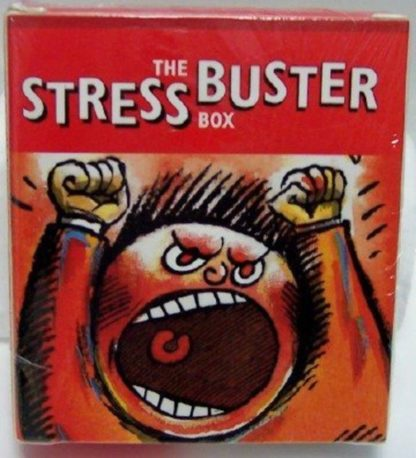 The Stress Buster Box Mini Book Kit New Front