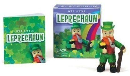 Wee Little Leprechaun Mini Book Kit New Open Stock Photo