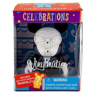 Disney Groom Celebrations Vinylmation 3 Inch Figure + Jr New In Box Front