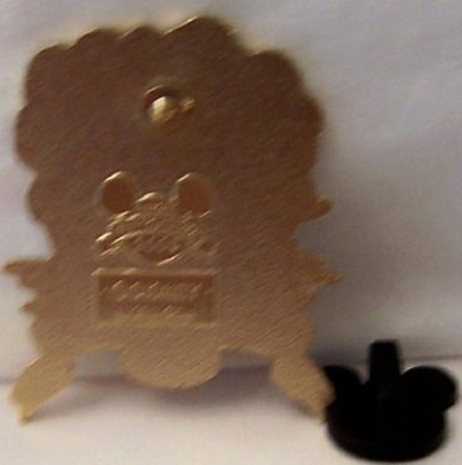 Disney Happy Birthday Balloons Pin Mickey Minnie New Back