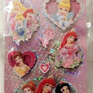 Disney Princess #7 Sandylion Dimensional Stickers New Front