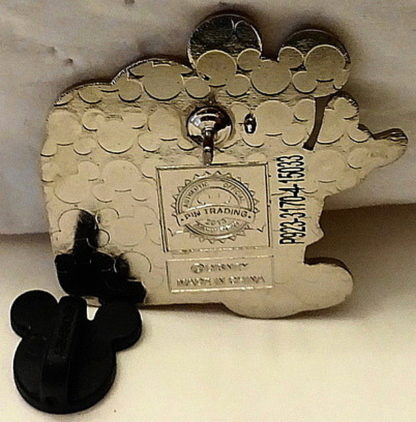 Mickey ASL Love Pin Disney Parks New Back