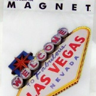 Las Vegas Flat Magnet Photographic New In Pack Front