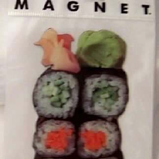 Sushi Photographic Flat Magnet New In Pack Front
