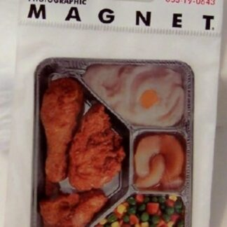 TV Dinner Flat Magnet Photographic New In Pack Front