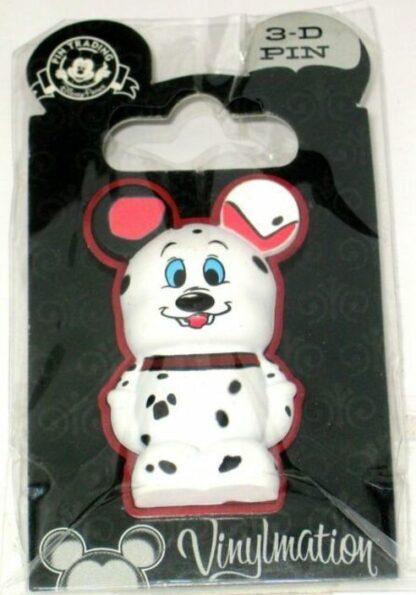 101 Dalmatians Vinylmation Pin Disney 3-D New On Card