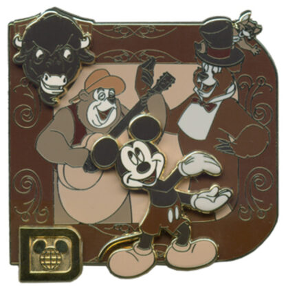 Classic Disney Collection Mickey Mouse Country Bear Jamboree LE 1000 Pin Front New Stock Photo