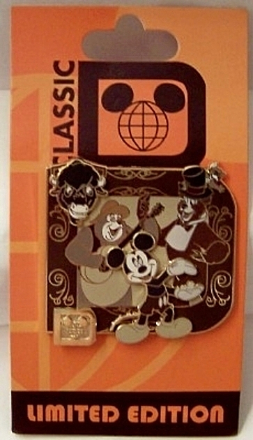 Disney Mickey Country Bear Jamboree Classic D Collection LE Pin New On Card Front
